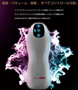 電動オナホール【TRYFUN パーソナライゼーション エレクトリックホール】