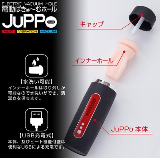 電動ばきゅ~むホール【JuPPo】の構造